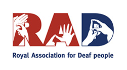Royal Association for Deaf People logo